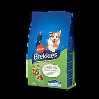 Brekkies Dog with Chicken 4 кг - корм для собак с курицей