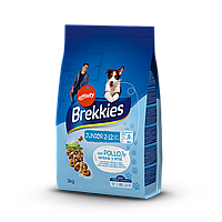 Brekkies Junior Chicken and Rice 3 кг - корм для щенков с курицей и рисом