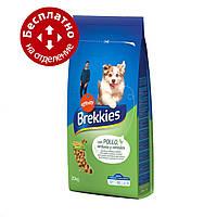 Brekkies Dog with Chicken 20 кг - корм для собак с курицей