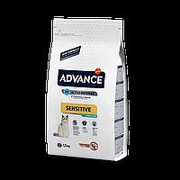 Advance Sterilized Salmon Sensitive 1,5кг- корм кастрированных/стерилизованных с лососем и ячменем