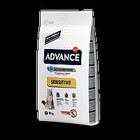 Advance Cat Adult Sensitive Salmon 10кг- корм для взрослых котов с лососем и рисом