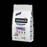 Advance Sterilized Hairball 1,5кг- корм кастрированных/стерилизованных с индейкой и ячменем