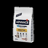 Advance Cat Adult Sensitive Salmon 3кг- корм для взрослых котов с лососем и рисом
