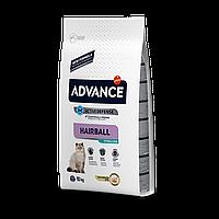 Advance Sterilized Hairball 10кг- корм кастрированных/стерилизованных с индейкой и ячменем