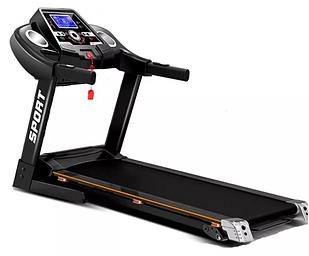 Электрическая беговая дорожка профессиональная  с экраном тренажер для дома Германия HRS T280