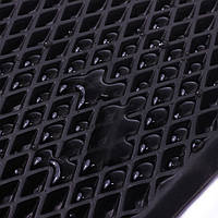EVA лист ромб, черный с ячейками 10мм/120х200см