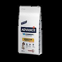 Advance Dog Medium-Maxi Sensitive Sensitive 12кг гіпоалергенний корм для собак з лососем і рисом