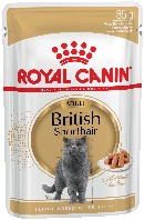 Royal Canin British Shorthair (шматочки в соусі) 85г*12шт-паучи для британських короткошерстих кішок
