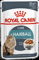 Royal Canin Hairball Care 85г*12шт - паучи для котов вывод волосяных комочков