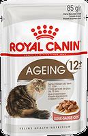 Royal Canin Ageing +12 в соусе 85г*12шт - паучи для кошек старше 12 лет
