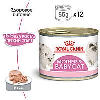 Royal Canin Babycat Instinctive 195г *12 шт - мусс для котят до 4 месяцев