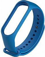 Змінний ремінець для фітнес трекера Mi Band 5 Blue
