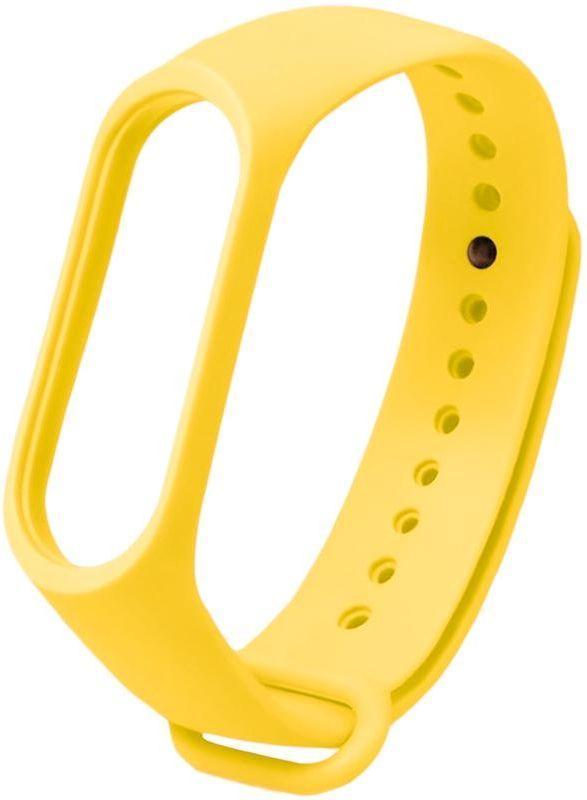 Сменный ремешок для фитнес трекера Xiaomi Mi Smart Band 5/6 Yellow
