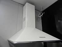 Sistema Onda 60 B 11B (600 мм.) купольная, кухонная вытяжка цвет белая эмаль, фото 1