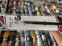 Крючок KnitPro с черной ручкой №1,5