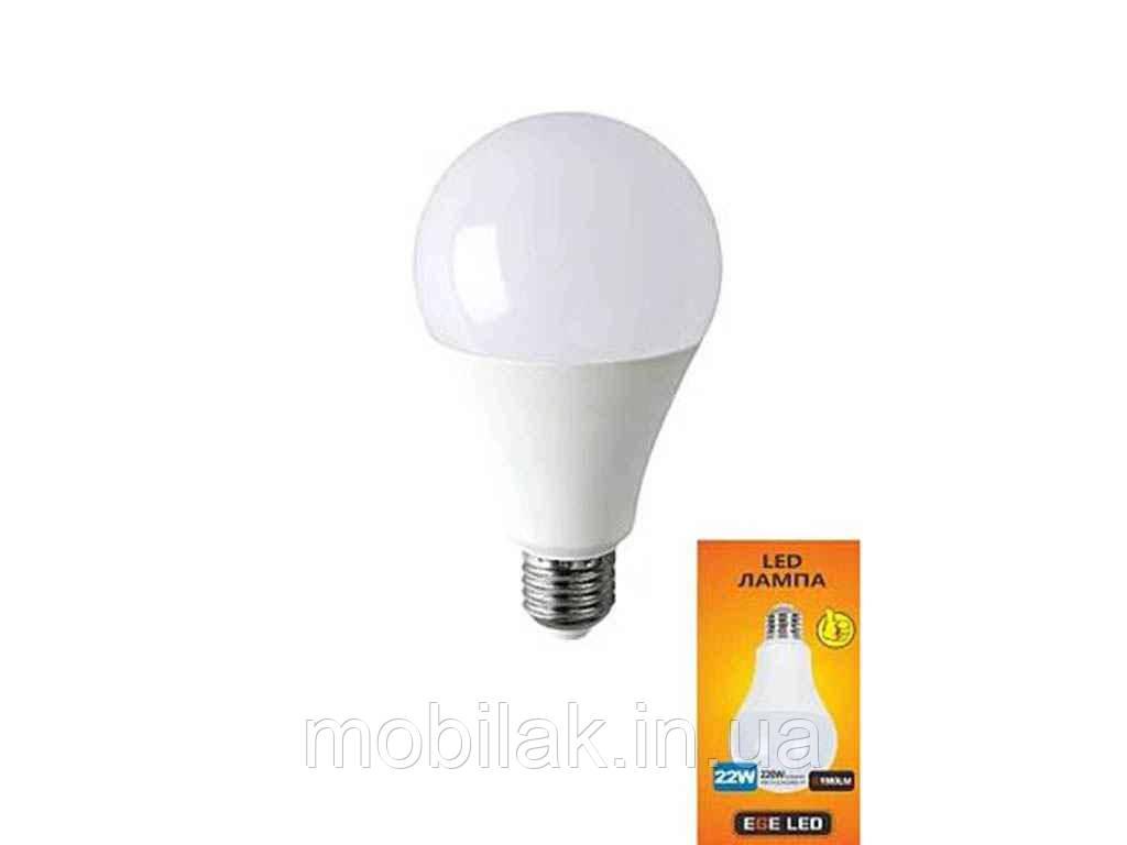 Лампа світлодіодна TB 019 22 W, E27,4100К ТМ EGE LED