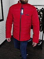 Мужская стильная куртка Puma (красная) демисезонная