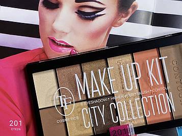 Тени для век TF Make Up Kit City Collection #201