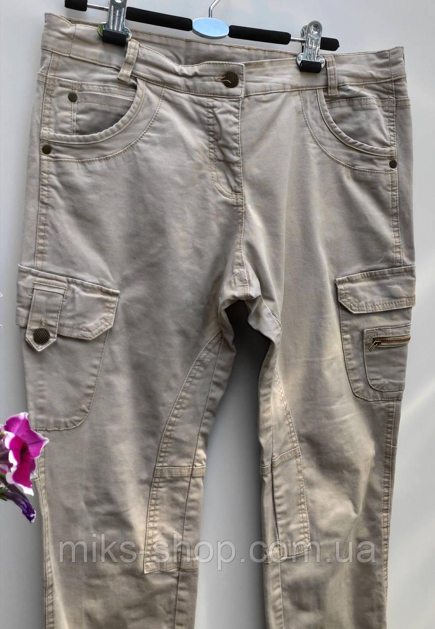 Фірмові жіночі завужені брюки yessica розмір 46-48 ( л-110)
