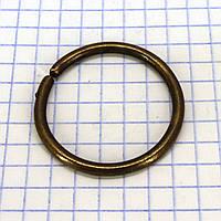 Кольцо 29*3 мм антик для сумок t4338 (50 шт.)