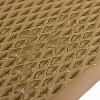 EVA лист ромб, бежевый с ячейками 10мм/120х200см