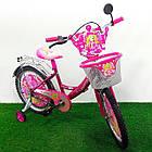 Детский велосипед Mustang Принцесса 18 дюймов розовый, фото 2
