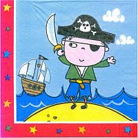 "Серветки ""Пірати"" (20шт./уп)"