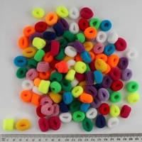Резинка для волос маленькая, диаметр 1,5 см, упаковка 120 шт.