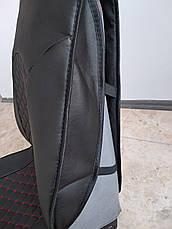 Авточехлы Эко-кожа на сиденья авто Комплект на передние сиденья экокожа, фото 2