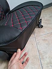 Авточехлы Эко-кожа на сиденья авто Комплект на передние сиденья экокожа, фото 3