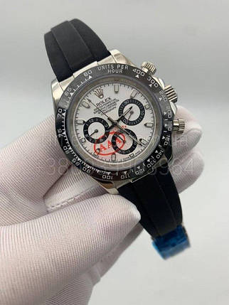 Наручные часы Ролекс Космограф Дайота Руббер Страп Симпл Люкс копия, фото 2