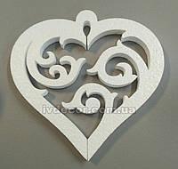 Серце з пінопласту H24, фото 1