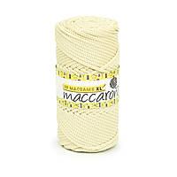 Трикотажный полипропиленовый шнур PP Macrame XL 4 mm, цвет Пломбир молочный