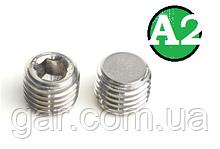 Пробка коническая резьбовая М18х1.5 DIN 906 А2