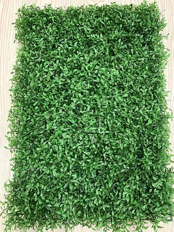 Искусственный коврик Хедж - трава . Коврик панно для декора ( 40 * 60 ), фото 2