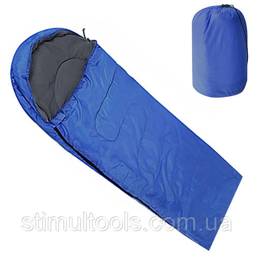 Спальный мешок Stenson 190(+30)*75 см (+15°С+25°С)