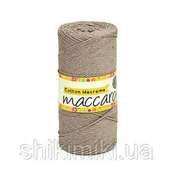 Эко Шнур Cotton Macrame, цвет Капучино