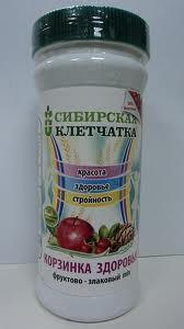 Сибирская клетчатка  (корзинка здоровья)  280г