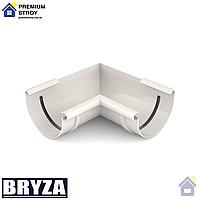 Угол желоба внутренний 90 градусов Bryza 125 мм Белый