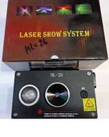 Светомузыка, лазерная установка HL-26 С USB