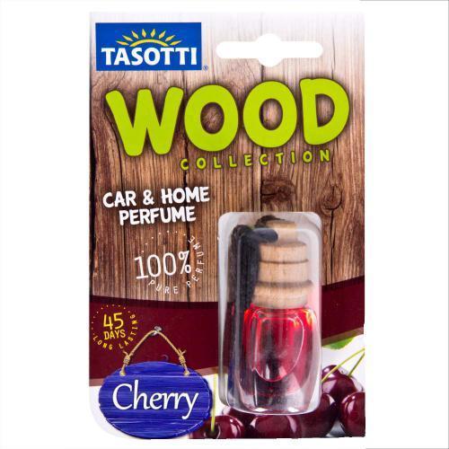 """Ароматизатор пробковый на зеркало Tasotti/серия """"Wood"""" - 7ml / Cherry (110497)"""