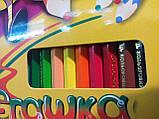 Карандаши цветные Пегашка, 36 цветов, ТМ Marco, фото 2