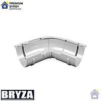 Угол желоба регулируемый 135 градусов Bryza 125 мм Белый