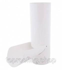 """Отвод для сбора воды """"PROFiL"""" Ø100 мм., Белый"""