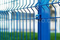 Забор секционный для ограждения зданий