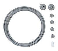 Комплект СО2 аксессуаров ADA Grey Parts Set, серый металлик