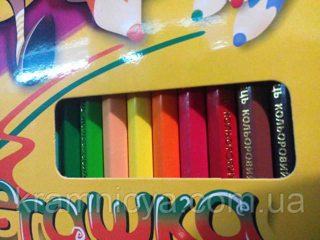 карандаши цветные шестигранные Marco