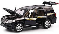 Металлическая Машинка Toyota Land Cruiser, фото 1