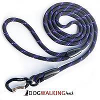 Поводок круглый с отражателем для собак Dog Walking PRO 1.8 м