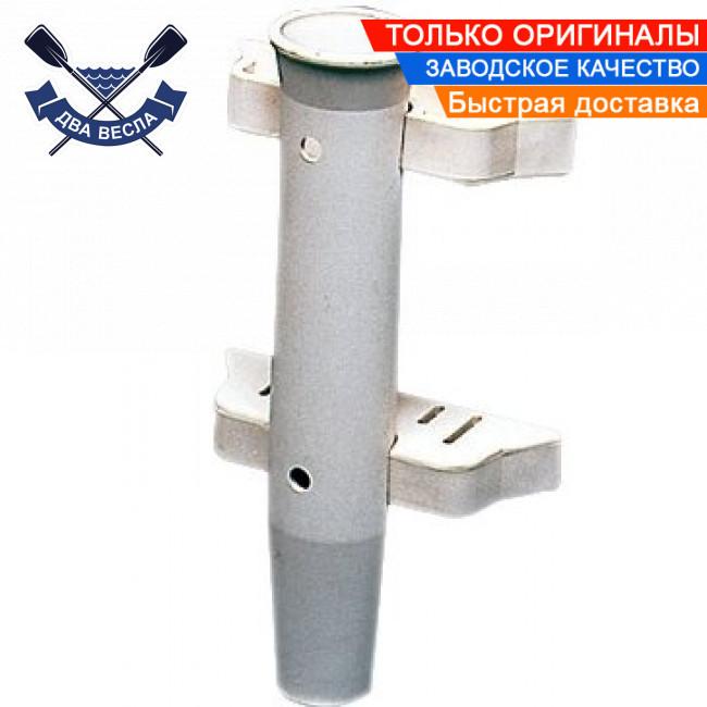 Настенный держатель удочки для удилища спиннинга универсальный 158мм прорези пластик 41.172.00 Италия оригинал